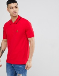 Luke Sport Mead Short Sleeve Polo Shirt In Red - Red