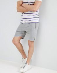 Luke Sport Monks Towelling Shorts In Grey Marl SUIT 2 - Grey