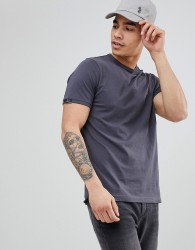Luke Sport Traff Short Sleeve T-Shirt In Charcoal - Grey