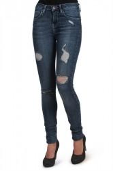 Lykke by Lykke - Jeans - My Favourite Regular - Dark Blue Denim Damage