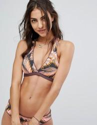 Maaji Fig Swirl Reversible Bikini Top - Multi
