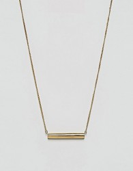 Made Gold Bar Necklace - Gold