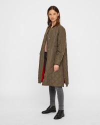 Mads Nørgaard Ripstop Quilt Campy frakke
