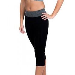 MAGIC Yoga Crop Pants - Black/Grey * Kampagne *