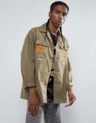 Maharishi Tour D'Afrique Shirt Jacket - Green