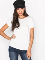 Maison Scotch Cold Dye Artwork T-Shirt T-shirt Denim White