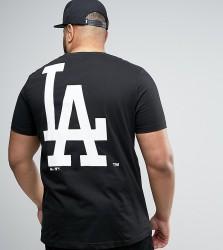 Majestic PLUS L.A. Dodgers Longline T-Shirt - Black