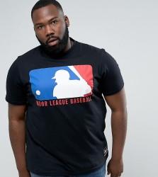 Majestic PLUS MLB Shield Logo In Black - Black