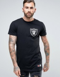Majestic Raiders Longline T-Shirt - Black