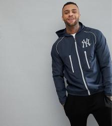 Majestic Sport Poly New York Yankees Track Jacket - Navy