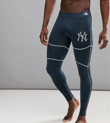 Majestic Sport Poly New York Yankees Track Joggers - Navy