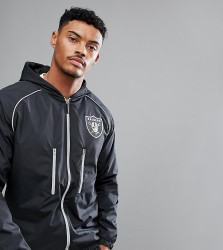 Majestic Sport Poly Raiders Track Jacket - Black