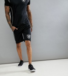 Majestic Sports Raiders Shorts - Black