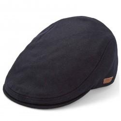 Major Wear Blå Kasket i Uld & Polyester