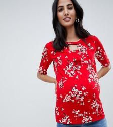 Mamalicious Floral Nursing Blouse - Multi