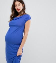 Mamalicious Jersey Dress - Blue