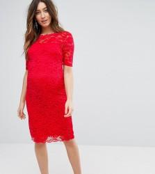 Mamalicious Lace Dress - Multi