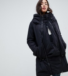 Mama.licious maternity padded parka with post birth functionality - Black