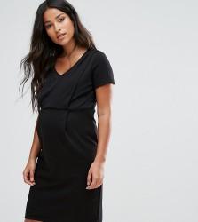 Mamalicious Nursing Jersey Dress - Black