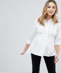 Mamalicious Smart Shirt - White