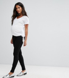 Mamalicious Under The Bump Ella Jegging - Black
