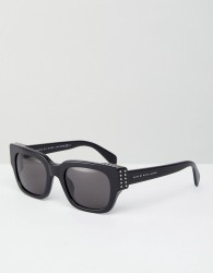 Marc By Marc Jacobs Chunky Square Lens Sunglasses - Black