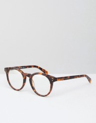 Marc By Marc Jacobs Clear Lens Glasses - Brown