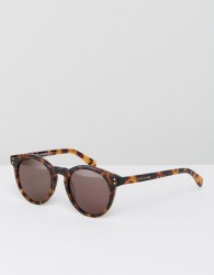 Marc By Marc Jacobs Round Sunglasses - Brown