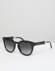 Marc Jacobs 129/S round sunglasses in black - Black