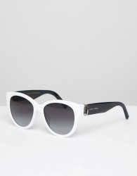 Marc Jacobs 181/S square sunglasses in white - White