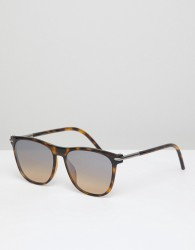 Marc Jacobs 49/S square sunglasses in tortoise - Blue