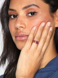 Marc Jacobs Band Ring Ring Magenta