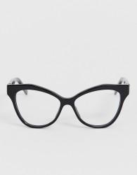 Marc Jacobs black cat eye glasses - Black