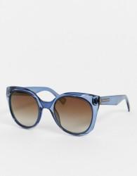Marc Jacobs cat eye coloured frame sunglasses - Blue