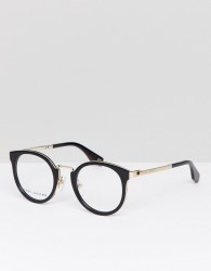 Marc Jacobs Cat Eye Optical Frames With Demo Lenses In Black - Black