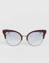 Marc Jacobs cat eye sunglasses in red - Red