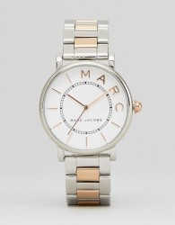 Marc Jacobs Classic Mixed Metal Watch - Gold