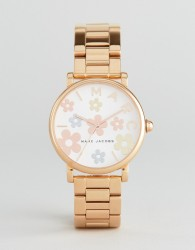Marc Jacobs Classic MJ3580 Bracelet Watch In Rose Gold - Gold