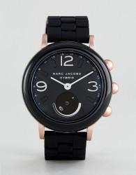Marc Jacobs Connected MJT1006 Bracelet Hybrid Smart Watch In Black - Black