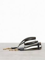 Marc Jacobs Double Stripe Strap Tasker Sort mønstret