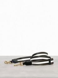 Marc Jacobs Double Stripe Thin Strap Tasker Sort mønstret