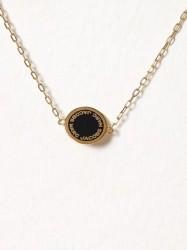 Marc Jacobs Enamel Logo Disc Bracelet Armbånd Oro