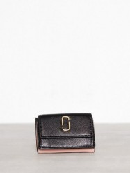 Marc Jacobs Mini Trifold Pung Black Rose