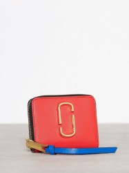 Marc Jacobs Mini Zip Card Case Pung Poppy Red