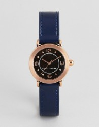 Marc Jacobs MJ1577 ladies navy leather watch - Navy