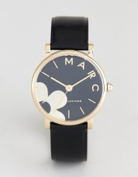 Marc Jacobs MJ1619 Daisy Leather Watch - Black