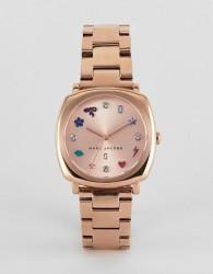 Marc Jacobs MJ3550 Mandy Bracelet Watch in Rose Gold - Gold