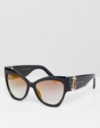 Marc Jacobs oversized cat eye sunglasses - Black