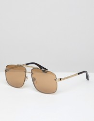 Marc Jacobs pilot sunglasses in gold - Gold