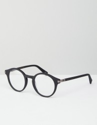 Marc Jacobs Round Clear Lens Glasses - Black
